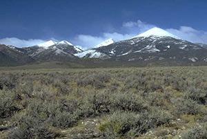 Nevada-mountains