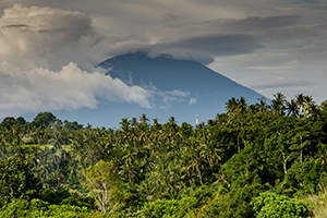 Costa Rico volcano