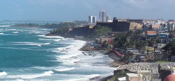 Old Town San Juan from El Morro