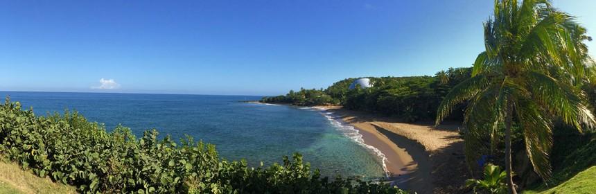 Dome Beach, Rincon PR