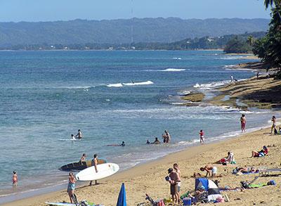 Sandy Beach, Rincon PR