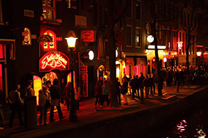 Amsterdan Red Light District