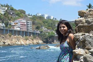 Model in Acapulco