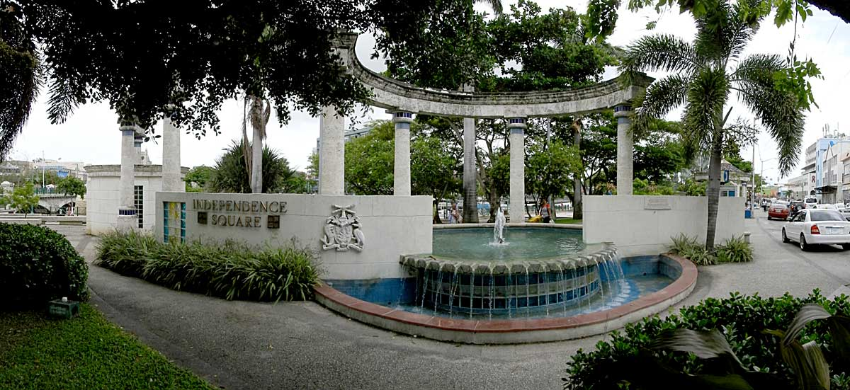 Independece Square in Bridgetown Barbados