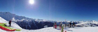 skiing france